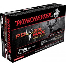7mm REMMAG Winchester 150gr power-max