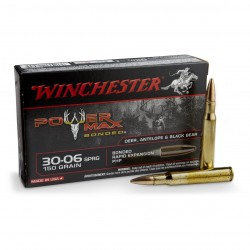 .30-06SPR Winchester 180gr power-max bonded