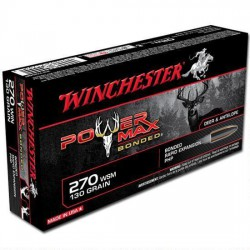 .270WIN Winchester 130gr power-max