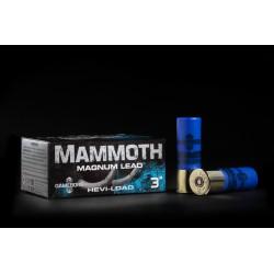 Hagelpatronen Mammoth Magnum kaliber 12 4/36 gram