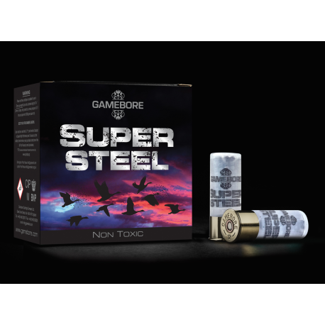 Hagelpatronen Super Steel HV kaliber 12 4/32 gram