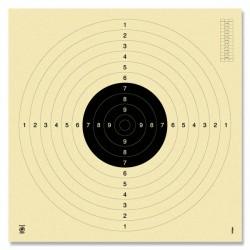 Schietschijf 25/50m pistool moederkaart