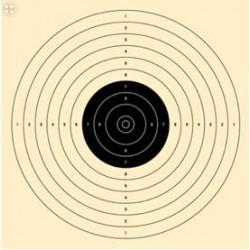 Schietschijf 10/12m pistool u.i.t.