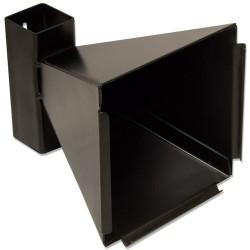 Kogelvanger zwart 14x14