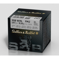 .308WIN S&B 147gr FMJ training