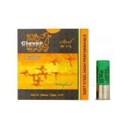 Hagelpatronen Clever Mirage kaliber 12 5/32 gram