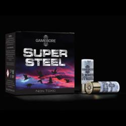 Hagelpatronen Super Steel kaliber 12 4/28 gram