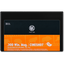 RWS .300WINMAG 147grs Cineshot