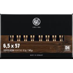 RWS 6.5X57 140grs DK
