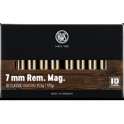 RWS 7MM REM MAG 177grs ID Classic