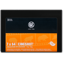 RWS 7X64 139grs Cineshot
