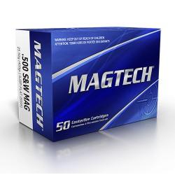 .500S&W Magtech 400gr SJSP Flat