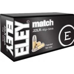 .22LR Eley Match