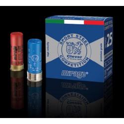 Hagelpatronen Clever Mirage T2 kaliber 12 7/24 gram