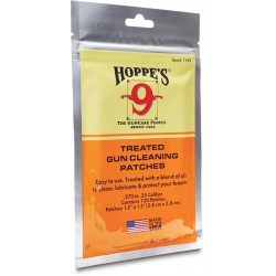 Hoppe's gun cleaning patches .270 - .35