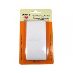 Hoppe's gun cleaning patches .38 - .45