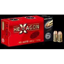 9mm para Geco 124gr Hexagon