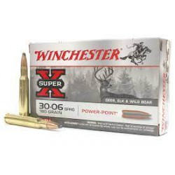 .30-06spr Winchester 180gr power-point