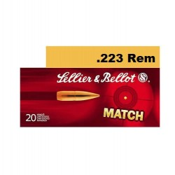 .223REM S&B 52gr match