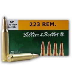 .223REM S&B 55gr SP