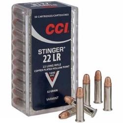 .22LR CCI 32gr stinger