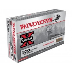 .300WINMAG Winchester 180gr power-point