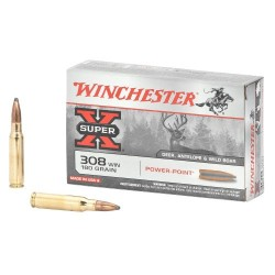.308WIN Winchester 180gr power point