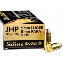 9mm para S&B 115gr JHP