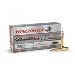 .223REM Winchester 55gr varmint x