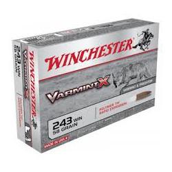 .243WIN Winchester 58gr varmint x