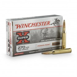 .270WIN Winchester 150gr power-point