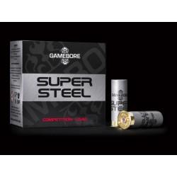 Hagelpatronen Super Steel kaliber 12 7/24 gram