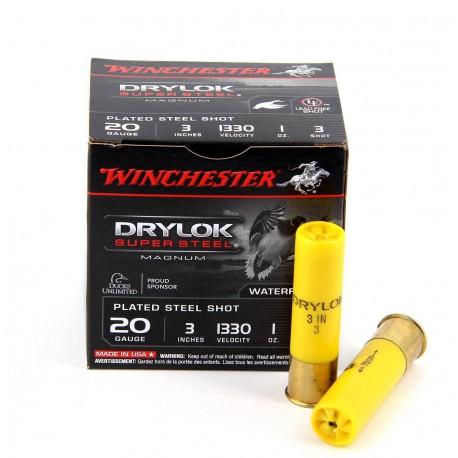 Hagelpatronen Winchester kaliber 20 3/28 gram Drylok