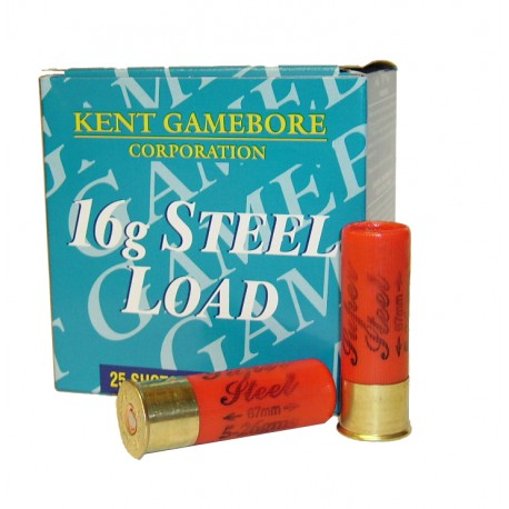 Hagelpatronen Super Steel kaliber 16 5/26 gram