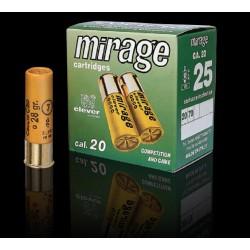 Hagelpatronen Clever Mirage kaliber 20 7/24 gram