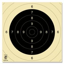 Schietschijf 25/50m pistool 26x26