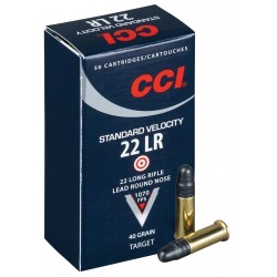 .22LR CCI 40 gr standard velocity LRN