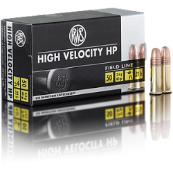 .22LR RWS High Velocity 40gr HP