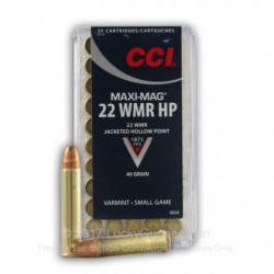 .22WMR CCI 40gr CP HP