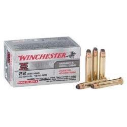 .22WMR Winchester 40gr HP Super-X