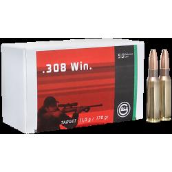 .308WIN Geco 170gr FMJ target