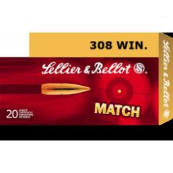 .308WIN S&B 175gr HPBT match