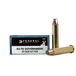 .45-70 Federal Goverment 300gr SP