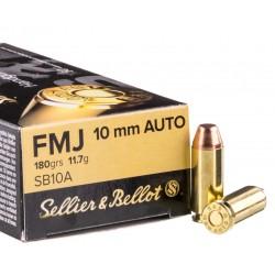 10mm auto S&B 180gr FMJ
