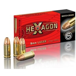 9mm para Geco 124gr Hexagon
